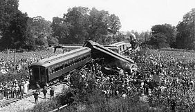Train Derailment near Nashville in 1918